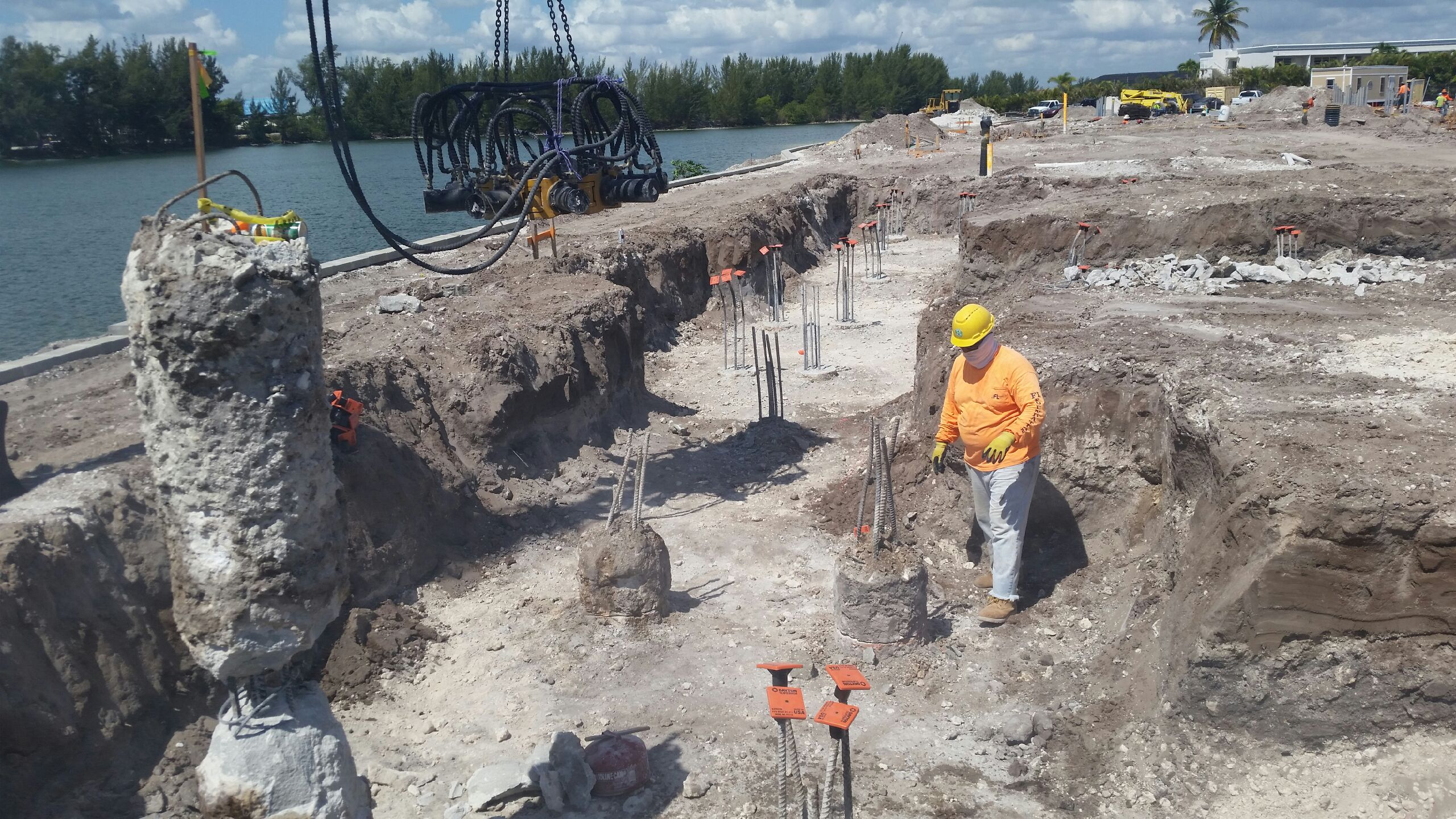 Crystal riviyera fl foundation auger cast piles