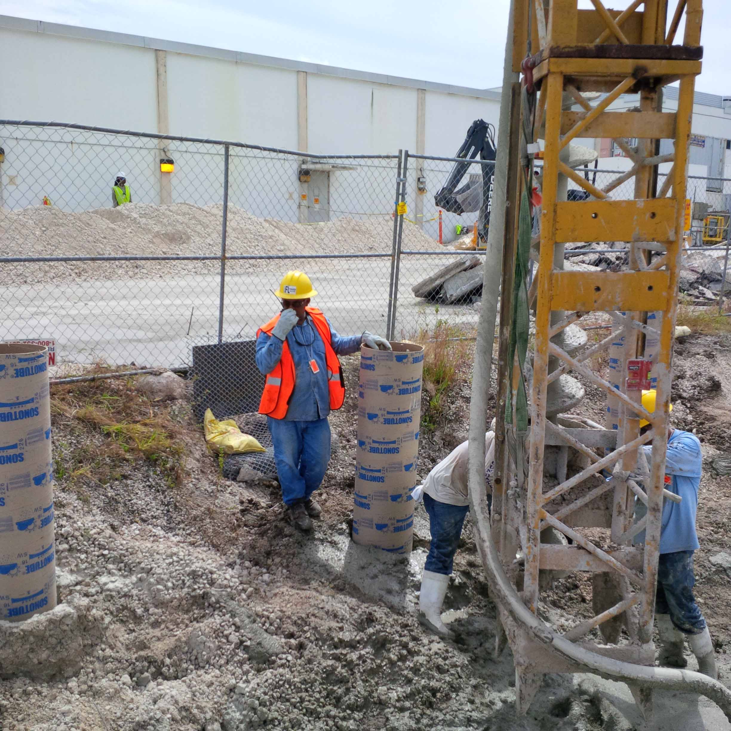 Construction Of Auger Cast Piles : Fl foundation auger cast piles