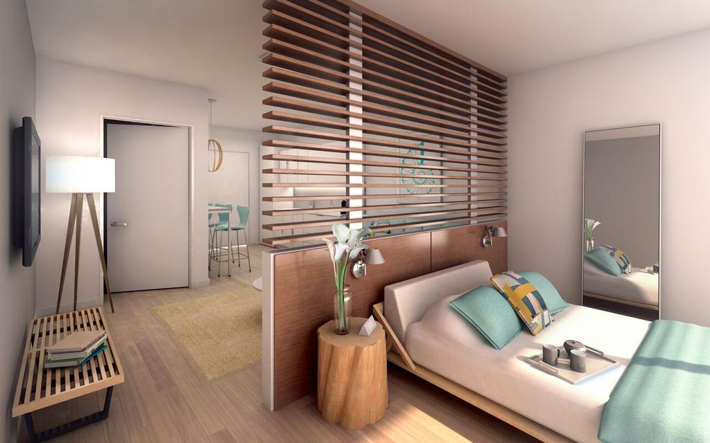Rooms in 6080 Collins Avenue Beach House start at $263,000.
