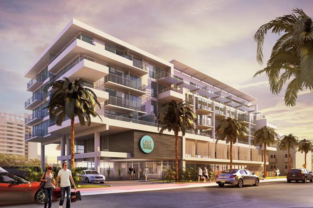 6080 Collins Avenue Beach House will have 70 hotel condo units.