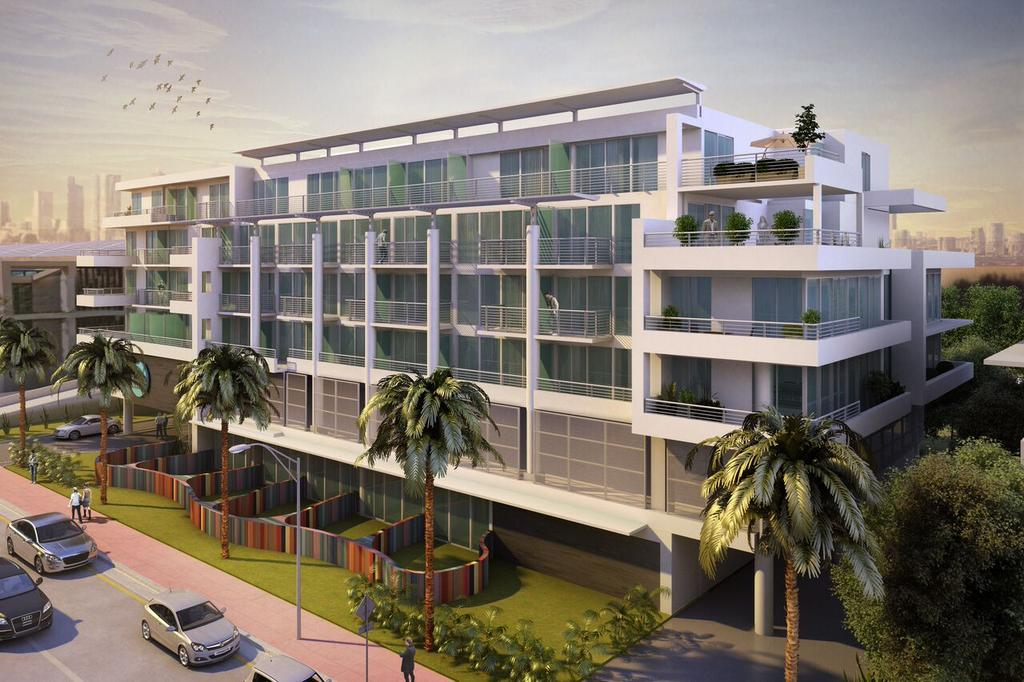 The six-story 6080 Collins Avenue Beach House in Miami Beach.
