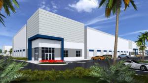 Bridge Development wants to build a 306,520-square-foot industrial building in Fort Lauderdale.