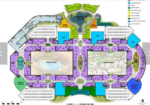 Level 1 - America Dream Miami Mega Mall